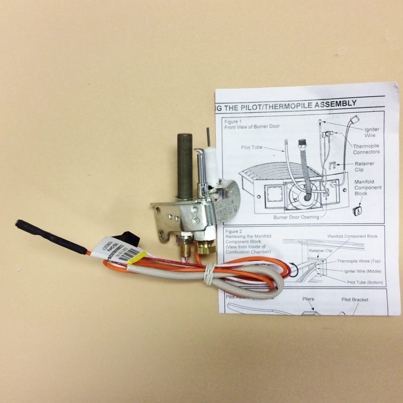 100093972 Water Heater Pilot Thermopile Assembly